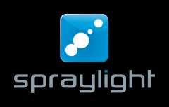 Spraylight Logo black high