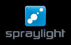Spraylight Logo white high
